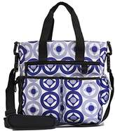 Unique & Lovely Best Mommy Messenger Diaper Bag Stylish Designer Look with Rugged and Useful Design. Perfect for Mum or Dad and Baby on the Go Waterproof Polyester, Circus Blue by Unique and Lovely