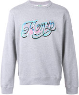 Kenzo embroidered logo sweatshirt - men - Cotton - M