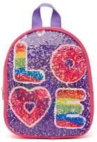 Confetti Love/Donut Flip Sequin Backpack