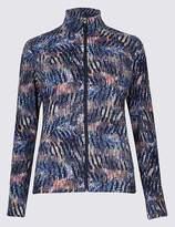 Marks and Spencer Printed Fleece Jacket
