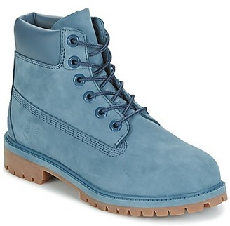 Timberland 6 IN PREMIUM WP BOOT girls's Mid Boots in Blue