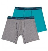 Davenport Bodyfit Core Twin Pack Mens Trunk