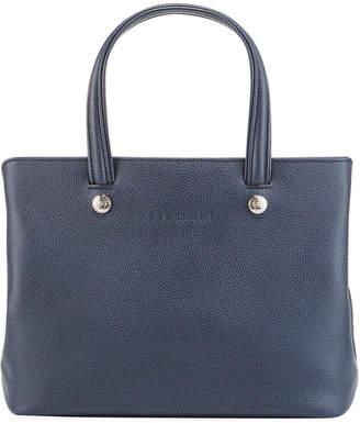Longchamp Le Foulonne Medium Leather Shoulder Bag