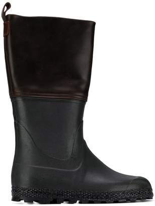 Holland & Holland two-tone hunting boots