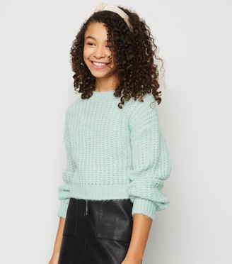 New Look Girls Light Brushed Knit Jumper