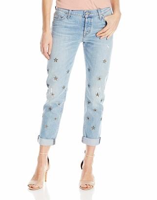 Hudson Women's Riley Relaxed Straight 5-Pocket Jean