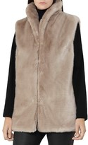 Reiss Meyer Faux-Fur Vest