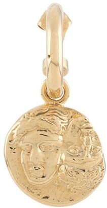 VICTORIA STRIGINI Istros coin hoop earring