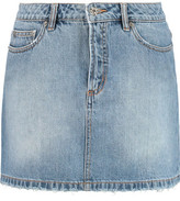 Marc by Marc Jacobs Icon Faded Denim Skirt