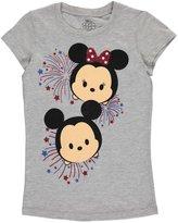 "Disney Minnie Mouse Big Girls' ""Fireworks"" T-Shirt - , 10-12"