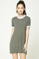 Forever 21 FOREVER 21+ Stripe Ringer T-Shirt Dress