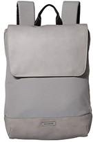 Moleskine Metro Slim Backpack (Black) Backpack Bags