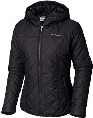 Columbia Women Copper Crest Hooded Fleece-Lined Jacket