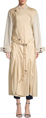 Chloé Belted Long-Sleeve Coat