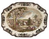 Johnson Bros. Friendly Village 20in Turkey Platter