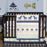The Peanut Shell Indio 4 Piece Crib Bedding Set
