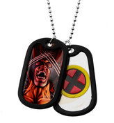 Marvel Wolverine Double Dog Tag Necklace
