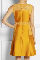 Lela Rose Satin and lace dress