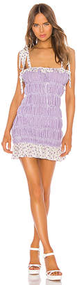 For Love & Lemons Lilac Mini Dress