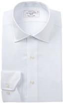 Lorenzo Uomo Dobby Dot Trim Fit Dress Shirt