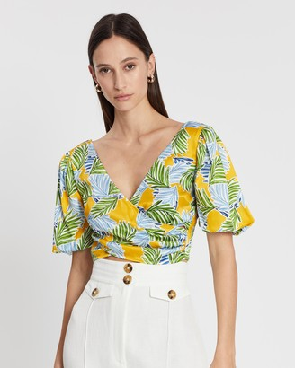 Bec & Bridge Palm Paradise Top