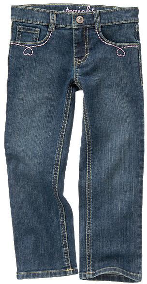 Gymboree Embroidered Straight Leg Jean