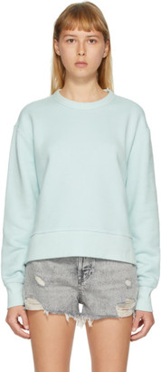 Rag & Bone Blue Frankie Side Zip Sweater
