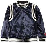 Scotch & Soda R ́Belle Girl's Felix Ams Blauw Collab Sporty Bomber Jacket