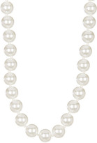 Givenchy Simulated Pearl Collar Necklace