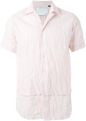 Matthew Miller Amarillo Unstructured Collar Short Sleeve Shirt