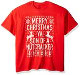 "Freeze Men's ""Merry Christmas Ya Son of a Nutcracker"" Ugly Christmas T-Shirt T-Shirt"