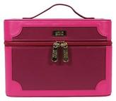 S.O.H.O New York Pink Colorblock Medium Makeup Organizer Box
