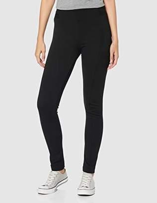 Tom Tailor Women's Treggins Trouser, (Deep Black 14482), 18 (Size: 44/32)