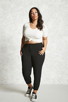Forever 21 FOREVER 21+ Plus Size High-Waisted Pants