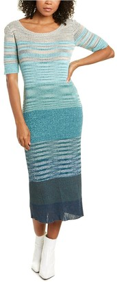 Missoni Abito Linen-Blend Sheath Dress
