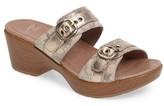 Dansko Women's 'Jessie' Double Strap Sandal