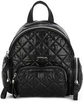 Moncler 'Florine' backpack - women - Calf Leather/Polyamide/Polyester - One Size