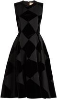 Roksanda Avildsen diamond-check dress