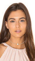 Natalie B Silverite Chain & Freshwater Pearl Buried Treasure Necklace