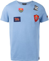 Alexander McQueen patch detail T-shirt - men - Cotton/Polyester/Viscose - S