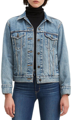 Levi's Jacquard Trucker Jacket With Jacquard By Google Mid