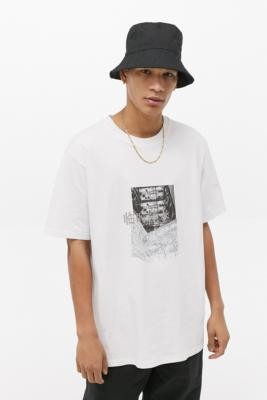 Temporary Collective Compact Living Organic T-Shirt - White L at Urban Outfitters