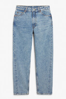 Thumbnail for your product : Monki Kyo mid blue jeans
