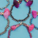 Bohemia Maya Bead Bracelet With Tassels