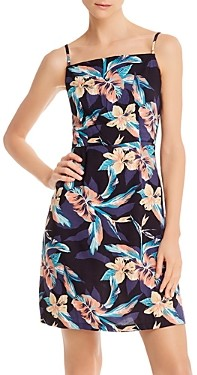 Roxy Sunny Weather Hibiscus Print Dress