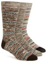 Sperry Men's Oasis Weave 3-Pack Socks