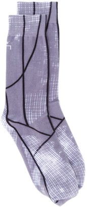A-Cold-Wall* Graphic-Print Cotton Socks