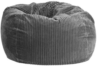 Pottery Barn Teen Charcoal Chamois Bean Bag Chair