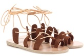 Ancient Greek Sandals Alcyone suede sandals