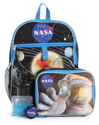 Bioworld NASA 5-Piece Backpack Set